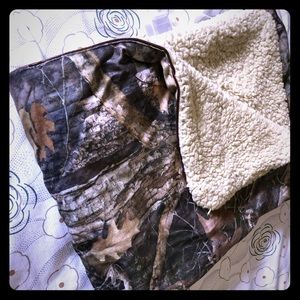 Bass Pro Shop baby blanket